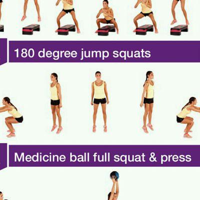 180 Jump Squat