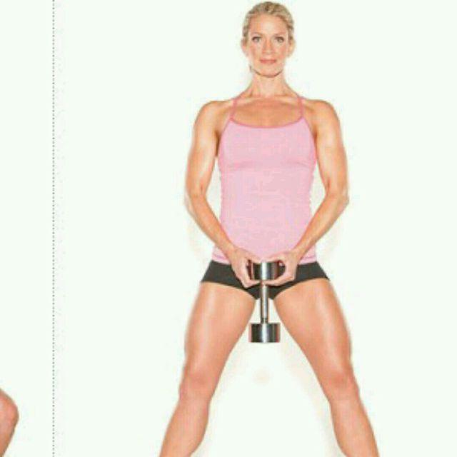 How to do: Sumo Squat - Step 2