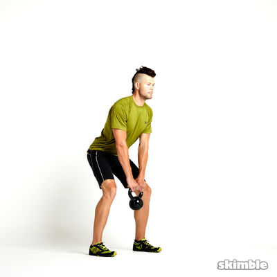 Kettlebell Romanian Deadlifts