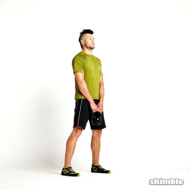 How to do: Kettlebell Deadlifts - Step 6