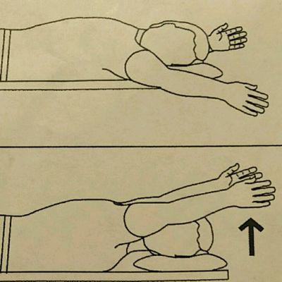 Shoulder Flex Prone Thumb Up