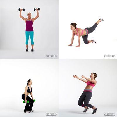 Angi's workouts