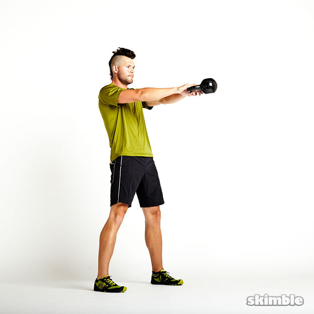 How to do: Kettlebell Swings - Step 2