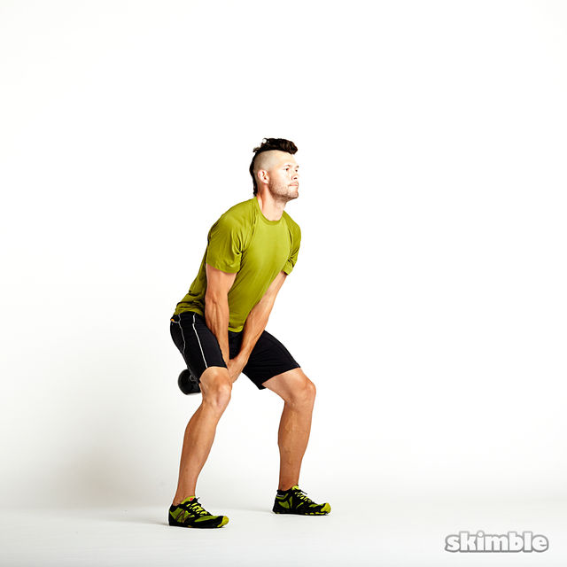 How to do: Kettlebell Swings - Step 1