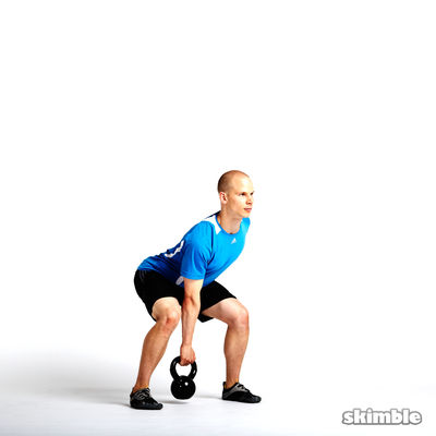Right Arm Kettlebell Swings
