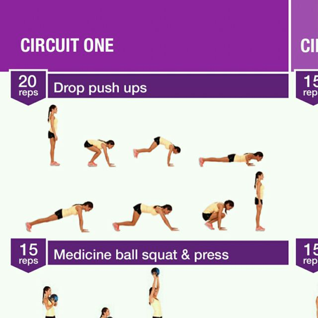 How to do: Drop Push Up - Step 1
