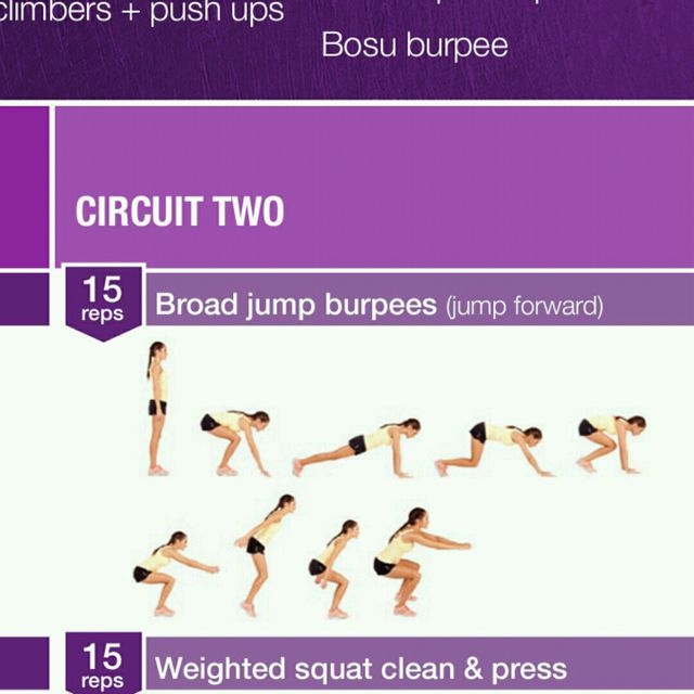 How to do: Broad Burpees - Step 1