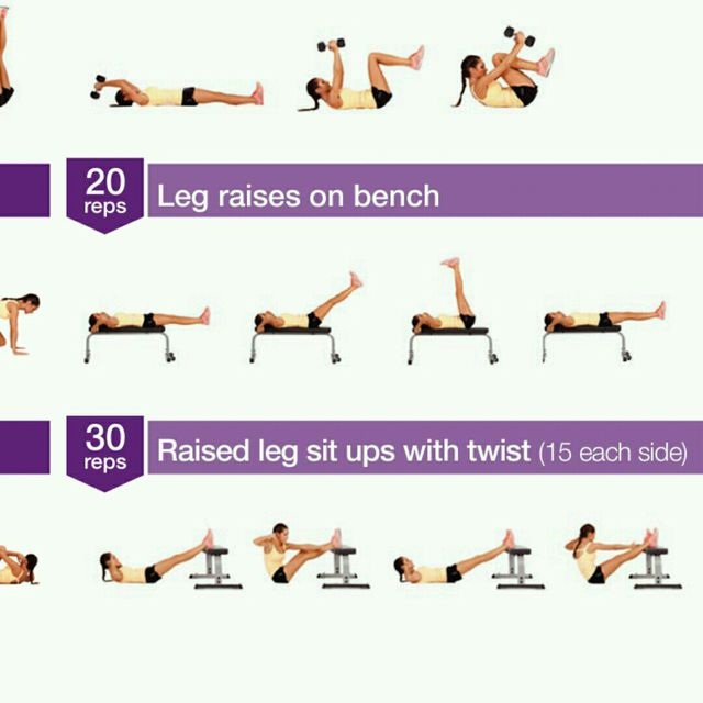 How to do: Leg Raise On Bench - Step 1