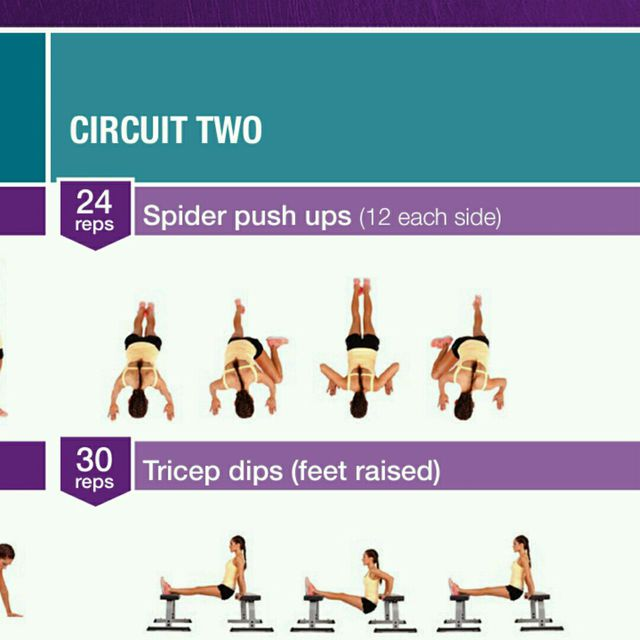 How to do: Spider Push Up - Step 1