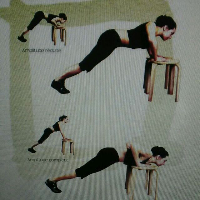 How to do: Chest Push Up - Step 1