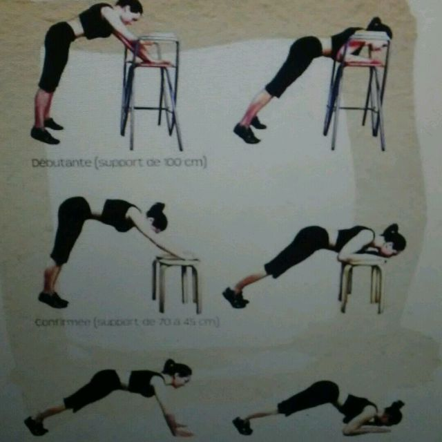 How to do: V Push Up - Step 1