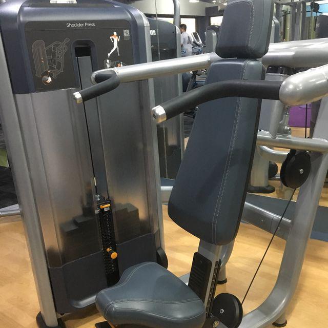 How to do: Shoulder Press Machine - Step 1