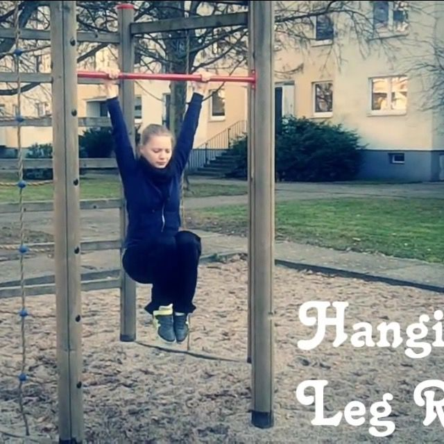 How to do: Hanging Leg Raise - Step 1
