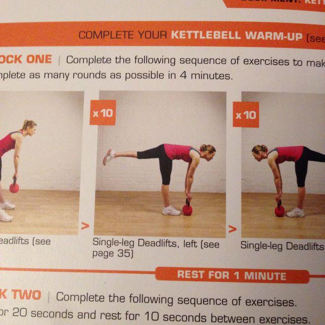 How to do: Single leg deadlifts - Step 1