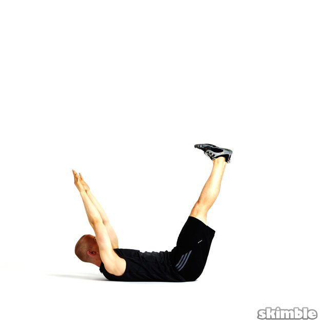 How to do: U Crunches - Step 5