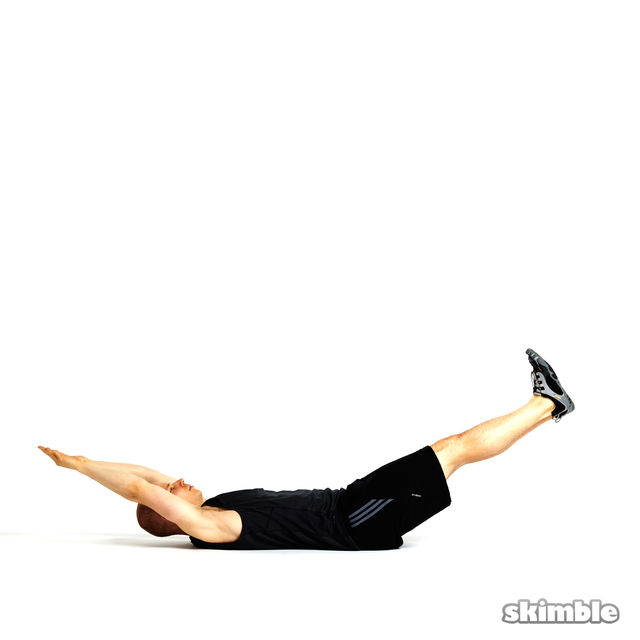 How to do: U Crunches - Step 6