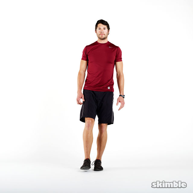 How to do: Single Leg Squats - Step 3