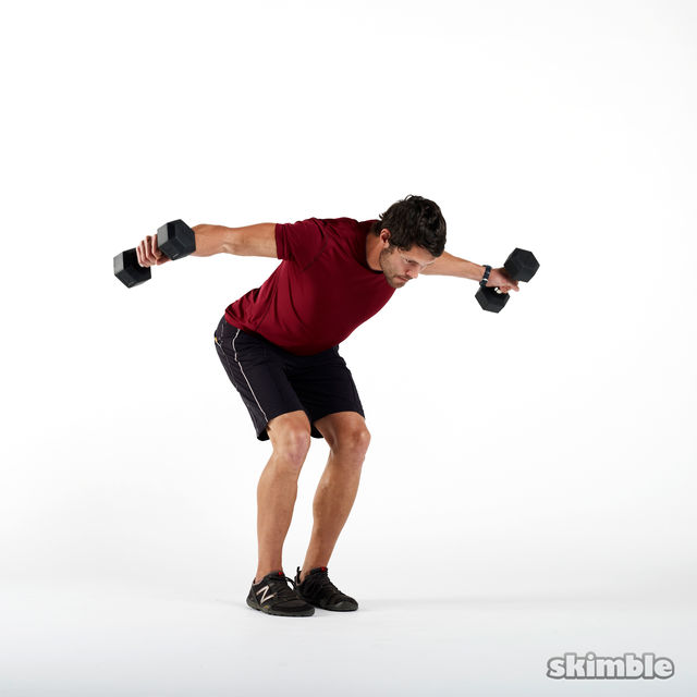 How to do: Dumbbell Rear Lateral Raises - Step 3