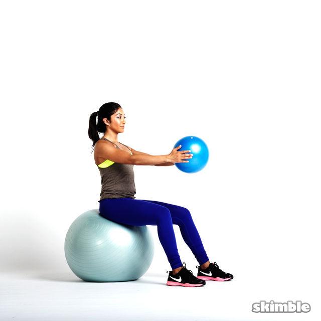 How to do: Torso Rotations with Medicine Ball - Step 3