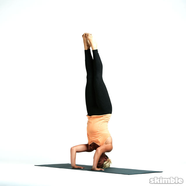How to do: Tripod Headstand - Step 5