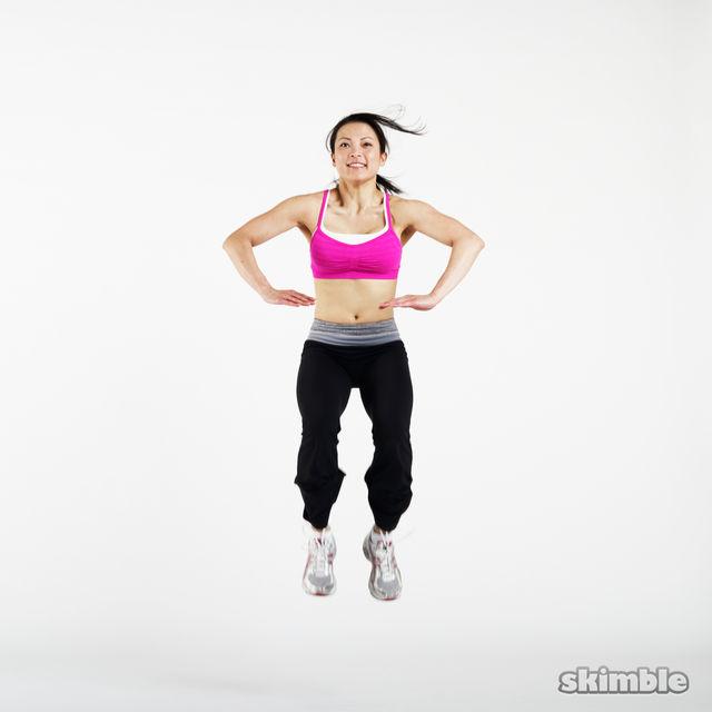 How to do: Jack Jump Tucks - Step 2