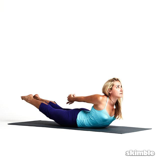 Estiramientos sencillos de yoga