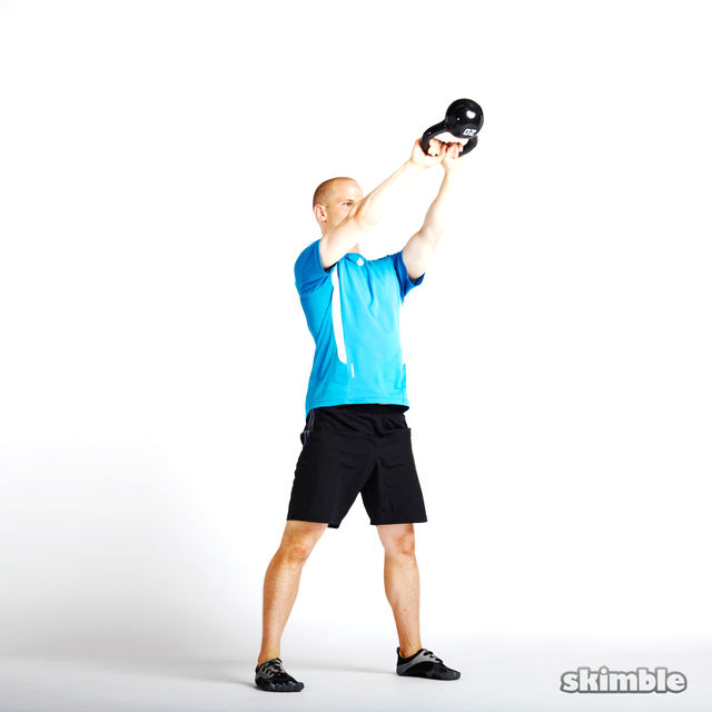 How to do: Alternating Kettlebell Swings - Step 3