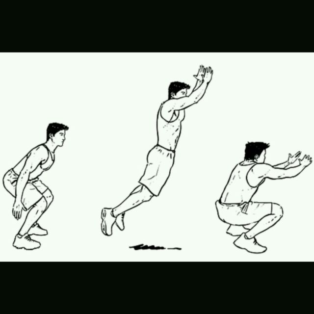 How to do: Broad Jumps - Step 1