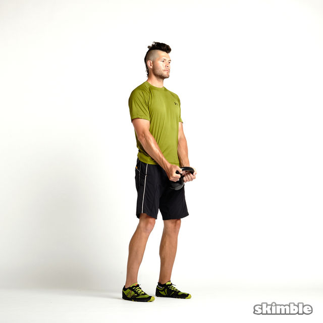 How to do: Kettlebell Hammer Curls - Step 4