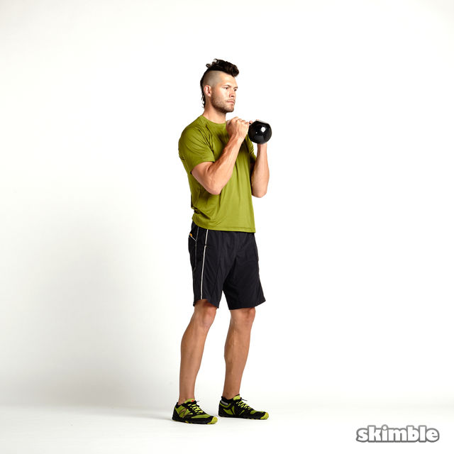How to do: Kettlebell Hammer Curls - Step 2
