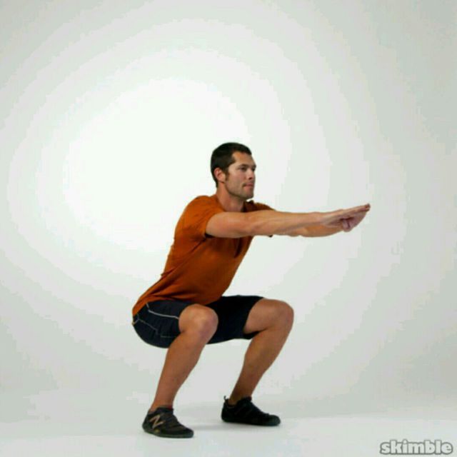 How to do: Static Squat - Step 1
