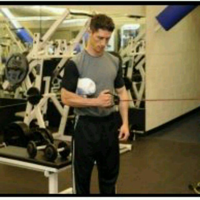 How to do: Rotator Cuff Tubing ER - Step 1