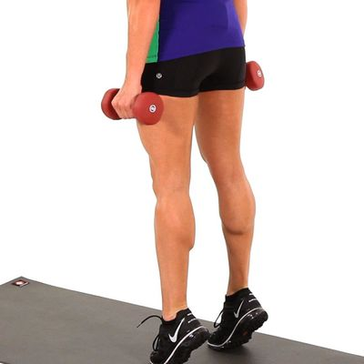 Dumbbell Calf Raises