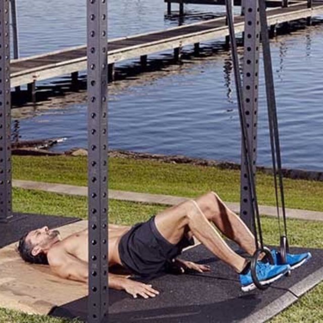 How to do: D Hamstring Bridge Curl - Step 2
