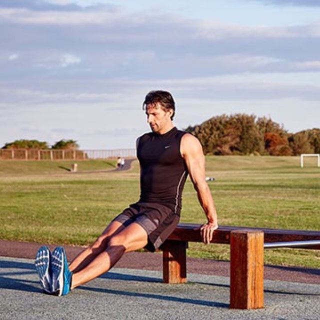 How to do: D Tricep Dips - Step 1