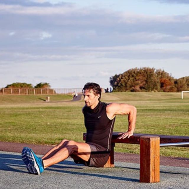 How to do: D Tricep Dips - Step 2