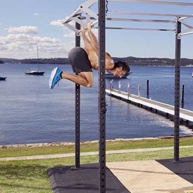How to do: Back Lever Tuck Hold - Step 1