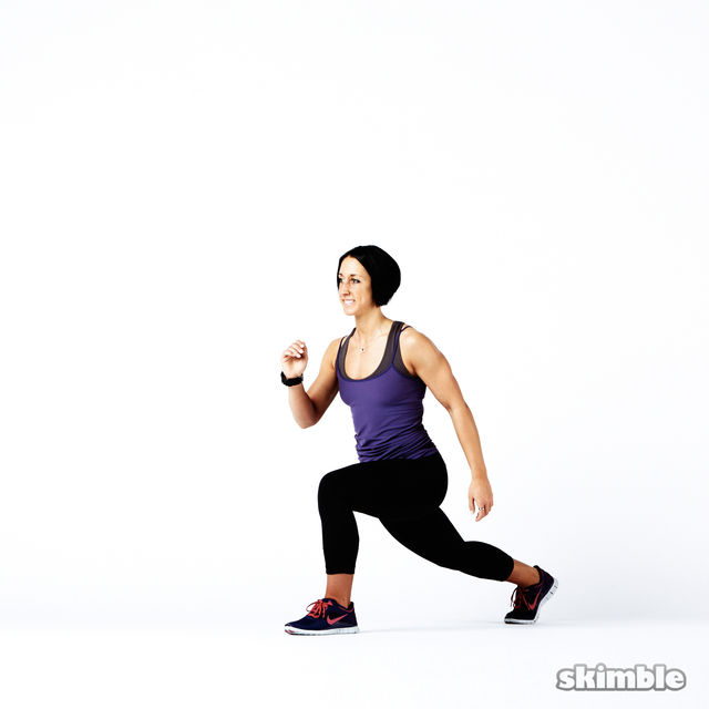 How to do: Plyo Lunges - Step 6