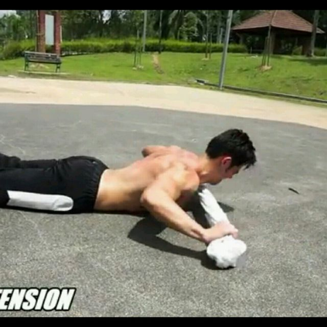 How to do: Back Extension - Step 2