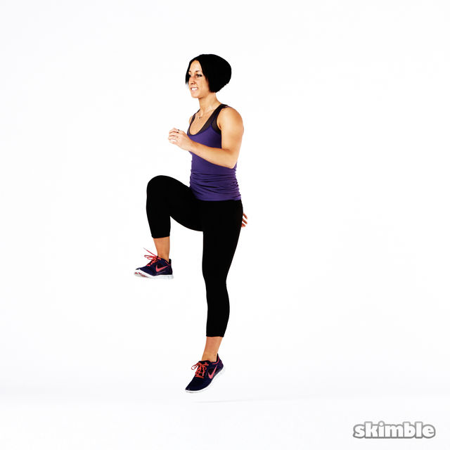 How to do: Plyo Lunges - Step 9