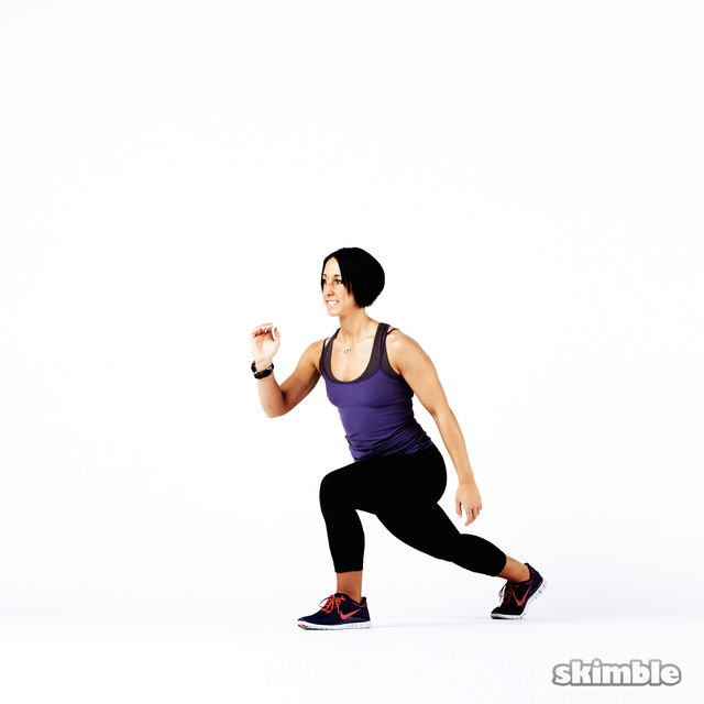How to do: Plyo Lunges - Step 10