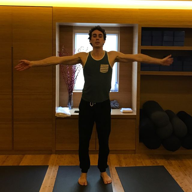 How to do: Wave Arms - Chest and Shoulder Stretch - Step 1
