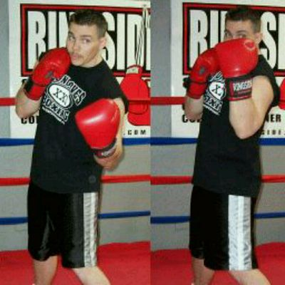 R Uppercut- L Upper Cut- Cross- L Hook