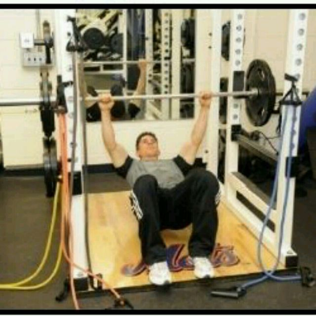 How to do: Inverted Row (Feet Flat) - Step 1