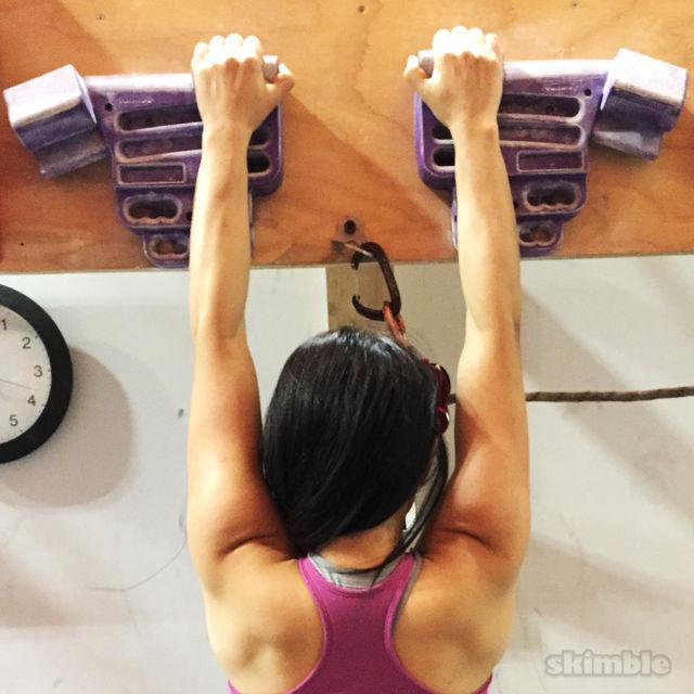Newbie Hangboard Workout