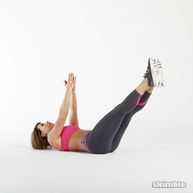 How to do: Oblique V-Sits - Step 3