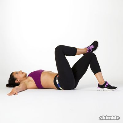 Left Oblique Crunches