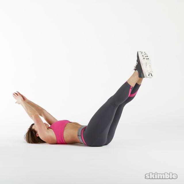 How to do: Oblique V-Sits - Step 1