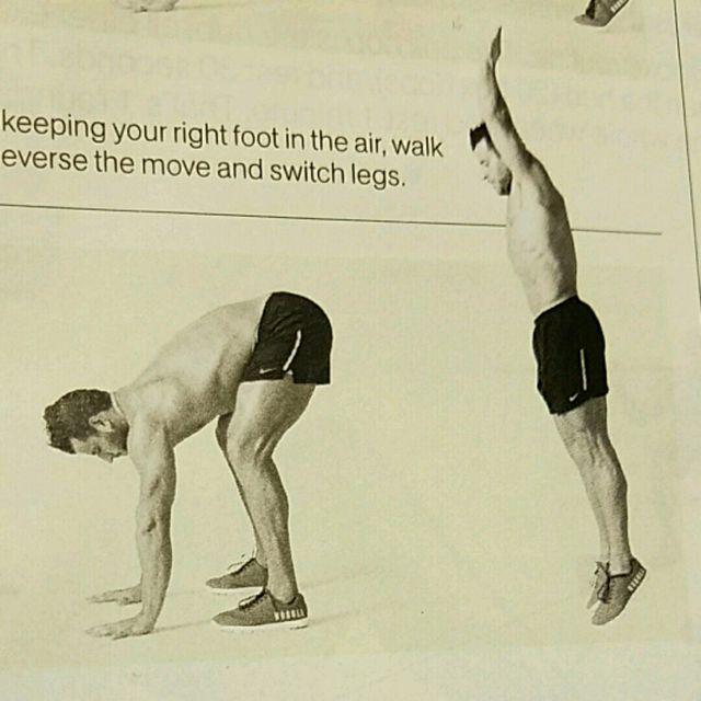 How to do: Reverse Burpee - Step 1