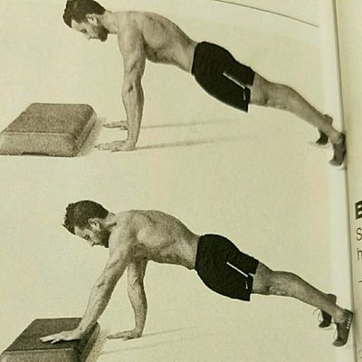 Low Box Plank Stepper